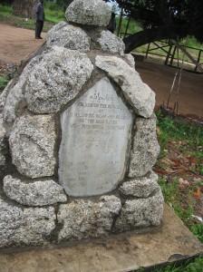 Arab Rifles Headstone