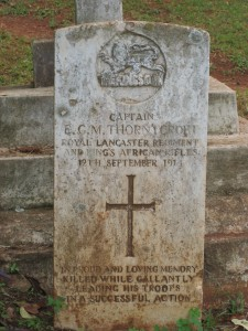 Kisii, Captain Thorneycroft's headstone mar07 289