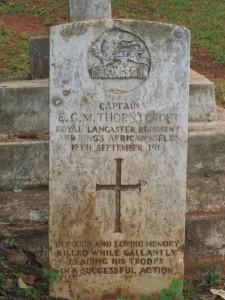 Kisii, Captain Thorneycroft's headstone mar07 289