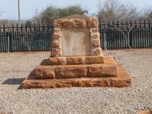 Maktau Indian Memorial a