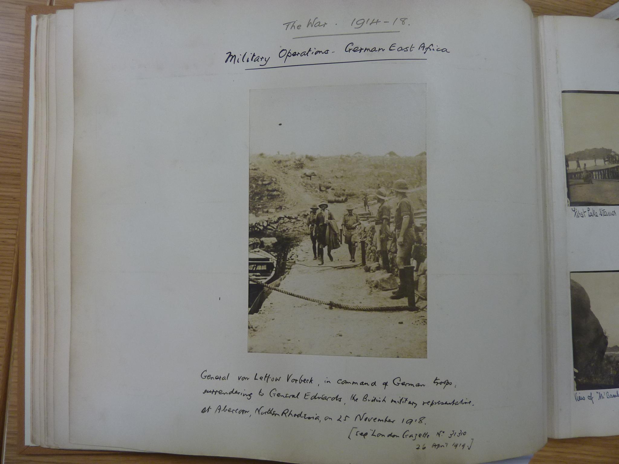 Lettow-Vorbeck surrender