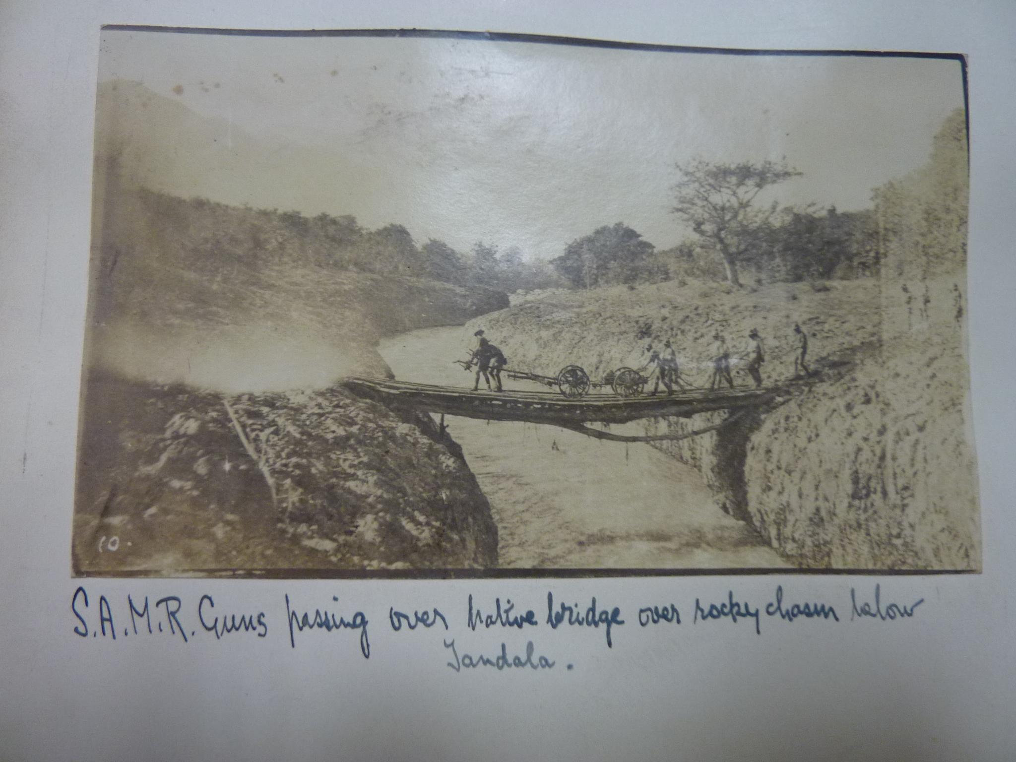 SAMR river crossing